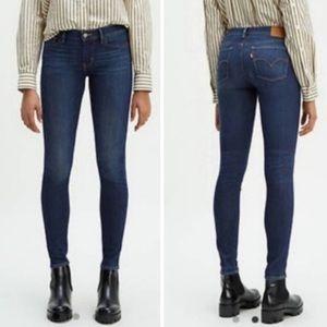 Levi's 710 Super Skinny Midrise Stretch Jeans 27